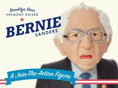 FCTRY is raising funds for Bernie Sanders Action Figure on Kickstarter! Let's turn Bernie Sanders into an action figure and create a fun new way to get real people and small businesses engaged in politics. Pamela Jones, Political Articles, Bernie Sanders For President, Puppet Show, What Can I Do, Real People, Puppets, Laughter, Action Figures