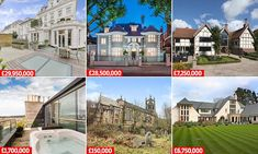These are the most viewed properties for sale in Britain in 2017