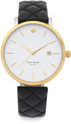 Kate Spade Metro Grand Quilted Watch on ShopStyle