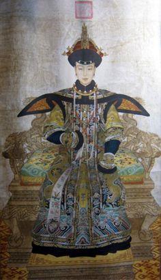 Empress Cixi and Her Cheongsam Dress | Elegant Chinese dress, Qipao, Cheongsam - ElegantStory.com |