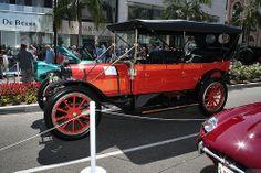 1911 Pope-Hartford Model W Touring - orange - svl
