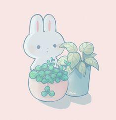 Cute Bear Drawings, Cute Animal Drawings Kawaii, Cute Little Drawings, Kawaii Doodles, Cute Doodles, Kawaii Art, Cute Anime Wallpaper, Cute Cartoon Wallpapers, Animes Wallpapers