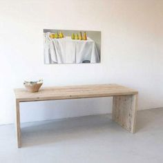 Katrin Arens.  Love her simple, eco. furniture.