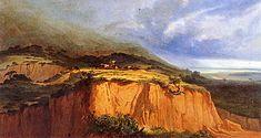 """João Cristino da Silva (1829 - 1877),  """"A passagem do gado"""", 1867"""