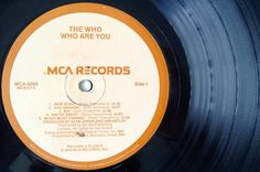 The Who Who Are You LP Vinyl Record Album MCA by ThisVinylLife