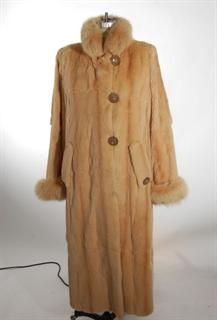 Wonderful Gone with the Wind Ranch Mink Coat Reversible to ...