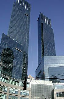 Time Warner Center New York by Skidmore Owings and Merrill