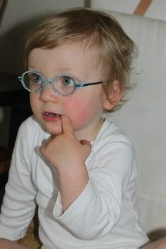 Vision therapy for toddlers... an exercise in patience.