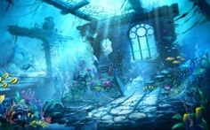 Wallpapers HD: Trine Underwater Scene