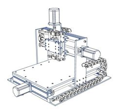 Build-Your-Own-3-Axis-CNC-Router-Machine-Plans-ONLY