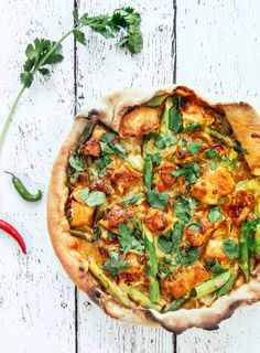 Thai Chicken Pizza — Bacon Egg & Cheese{cake}