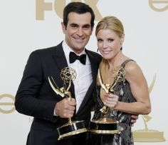 Modern Family Cast: Ty Burrell and Julie Bown