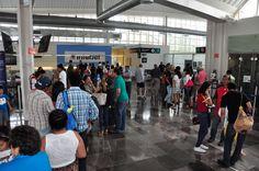 Aeropuertos registran incrementos en el año - El Expreso de Campeche