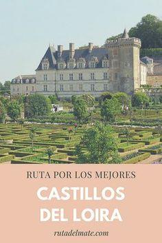 Castillos del Valle del Loira en Francia, ruta en coche de 3 días Real Castles, Picture Postcards, Toscana, France Travel, Paris France, Travel Inspiration, The Good Place, Taj Mahal, Tourism