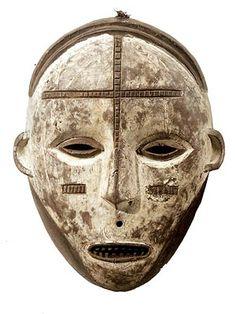 Bakongo Mask 2, Congo (in fact Mbanja or Ngbaka)