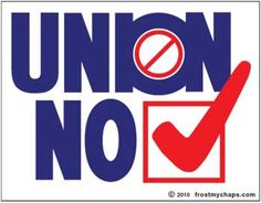 Another Victory over Unions!  Posted on April 20, 2015 by Mark Horne   Read more at http://politicaloutcast.com/2015/04/another-victory-over-unions/#A6gmxQ4VckVPP5K9.99