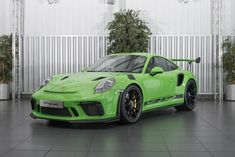 2018 Porsche GT3 RS GEN II In Lizard Green
