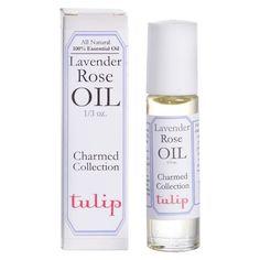 Women's Charmed Lavender Rose by Tulip Perfume Oil - 0.33 oz