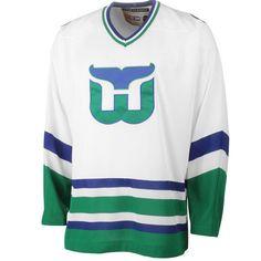 Men s Hartford Whalers CCM White Throwback Jersey Nhl Jerseys 68b673b33