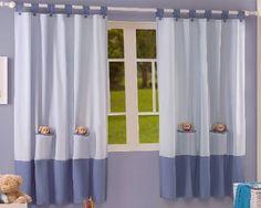 cortinas infantiles nias nios bebe cunas corral bsf
