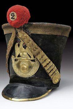 Shako del 2 rgt. fanteria di linea