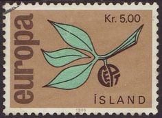 Iceland 1965 SG 426 Used Europa/CEPT Listing in the Iceland,Europe,Stamps Category on eBid United Kingdom Stamp Collecting, Postage Stamps, Fruit, Design, Seals, World, Europe, Lithuania