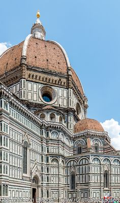Il Duomo at the Cathedral of Santa Maria del Fiore located in Florence, Italy; Artistic Photography by Ron Elledge