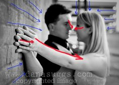 Tips and Rules of Composition and Leading Lines. Tutorial via iHeartFaces.com #photography