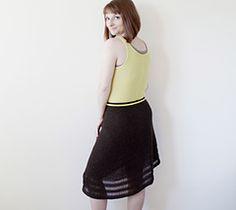 Heichi skirt - $7.50 knit pattern