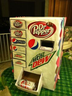 "Valentines box ""vending machine"" 