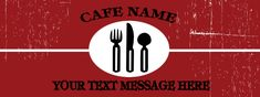 Cafe-Restaurant Banner # 8094 Cafe Restaurant, Text Messages, Banner, Banner Stands, Text Messaging, Texting, Banners, Texts