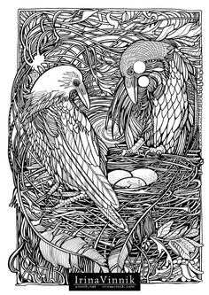 Manic Botanic, Zifflin's Tension Taming Coloring book, invites you to get in touch with nature in all of its glory. Bird Coloring Pages, Adult Coloring Pages, Coloring Sheets, Coloring Books, Color Me Beautiful, White Art, Pyrography, Colorful Pictures, Pet Birds
