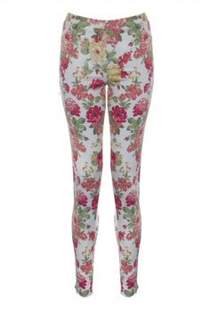 Rare London Floral Jeggings