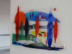 De werken in de Galerie van Frans Houben zijn expressief. Ze hebben een felle, krachtige, energieke lading, ondanks het transparante …