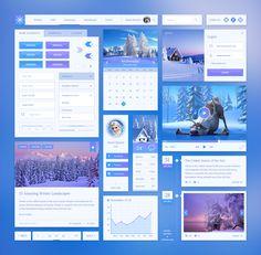 Free Download : Snowflake UI Kit