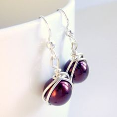 Love these earrings. Trace Designs on Etsy.