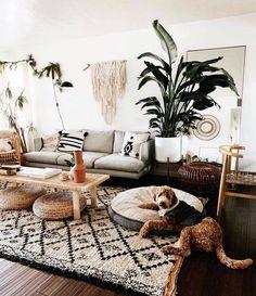 Perfectly applying the bohemian living room design - . - Perfectly applying the bohemian living room design - room - Eclectic Living Room, Boho Living Room, Interior Design Living Room, Home And Living, Living Room Designs, Living Area, Modern Living, Small Living, Boho Room