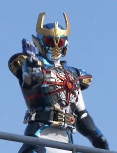 KR Ixa from Kamen Rider Kiva