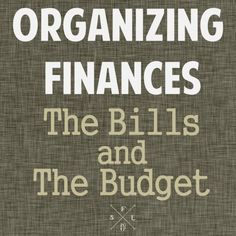 Helpful Strategies and Printables for Organizing Your Finances // SimplyFabulousLiving.com