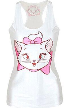 0d1c910c7a8afd Alvak Women Digital Printed Cute Cat Sleeveless T Shirt Vest Tank TopBXH35  -- Check out