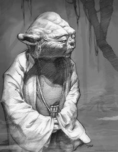 Yoda by jessasketch