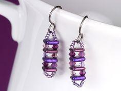 Free Ideas: Artbeads.com - Concertina in Purple