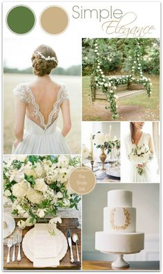 Olive green wedding | champagne and sage wedding | www.endorajewelle...