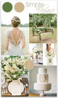 Olive green wedding | champagne and sage wedding | www.endorajewelle...