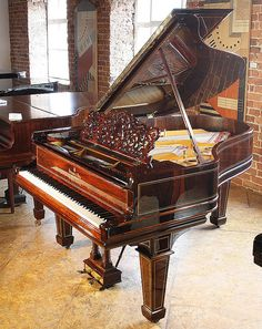 Rosewood Steinway grand piano. Gorgeous! Photo taken by Sophie Pitcher