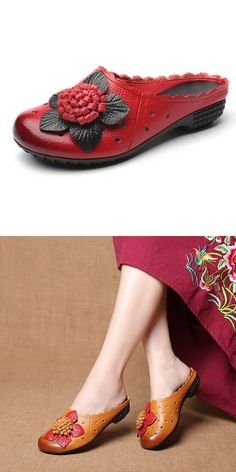 Socofy leather hollow out floral decoration breathable casual slippers slippers shoes #me #to #you #slippers #ramp;j #slippers #slippers #costco #slippers #slip #on