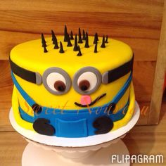 Minion Cake by Sweet nouveau - Sweet Nouveau 2014.  Its was a great year and the best is yet to come.