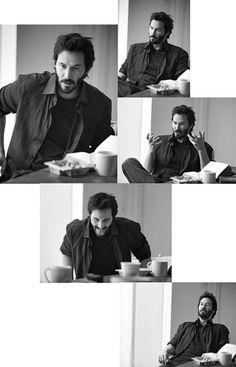 Keanu Reeves, Los Angeles, CA by Amanda de Cadenet for Vogue Hommes International, 2009.