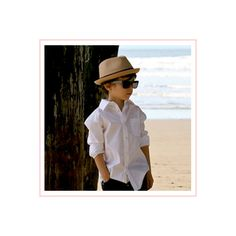 Boys Fedora Hat Tan and Brown | Born To Love Hats ($31) ❤ liked on Polyvore featuring kids, babies, children and people