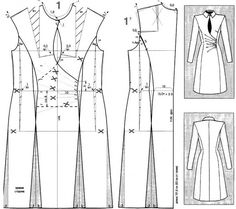 redingote dress